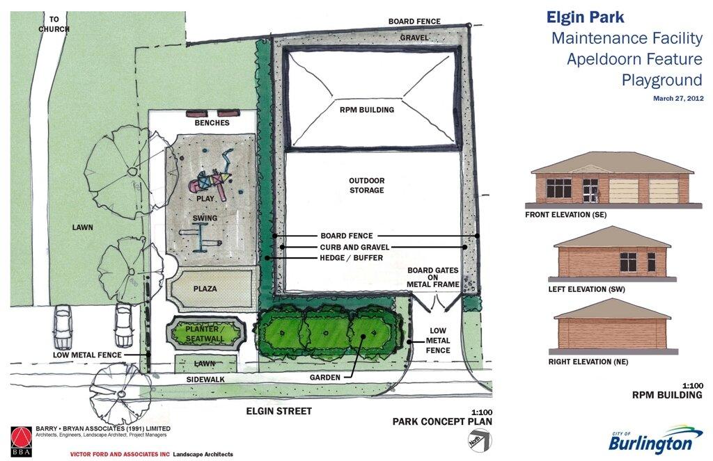 Elgin Park re-design concept